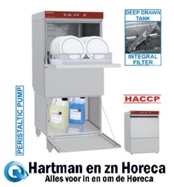 D86/6+BD/F-PF - Geheel vaatwasser samengesteld uit:D86/6 - Vaatwasser mand 500x500 mm - BD/F-PF - Gesloten onderstel voor vaatwasser DIAMOND