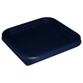 CF043 - Vogue vierkant deksel blauw klein