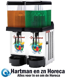 DD12/2B - Gekoelde dranken dispenser 2 x 12 Liter DIAMOND