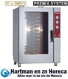 DGV-1111/P - Combisteamer Gas oven 11x GN 1/1 DIAMOND