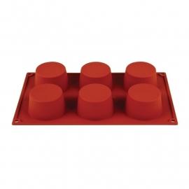 N933 - Pavoni Formaflex siliconen bakvorm 6 muffins