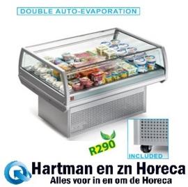 AR150/V-A1/R2 - Panoramische gekoelde self-service toonbank mm (BxDxH) : 1500x960xh940 DIAMOND