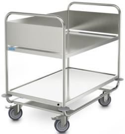 0139292 - Afruimwagen ARW 10x6/2 HS, 2 etages, afm. laadvlak 1000x600 mm (bxd), draagvermogen 120 kg, gewicht 25 kg