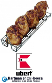 RT 7HSG7 - Kippengrillmand voor kippengrills UBERT : RT 508 - 516, RT 408 - 416, RT 608 - 616