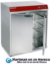 GEMMA120/V- Geventileerde warmkast (of) warmhoudkast, 2 klapdeuren DIAMOND