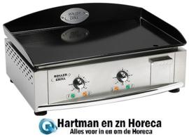 304160 - Elektrische Bakplaat 60 x 40 cm-glad Roller Grill