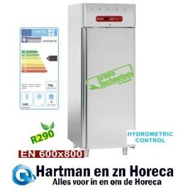 AP1N/F86-R2 - Geventileerd koelkast 850 Lit., 1 deur, 40x EN 600x400 (of) 20x EN 600x800 DIAMOND Pastry Line PLUS