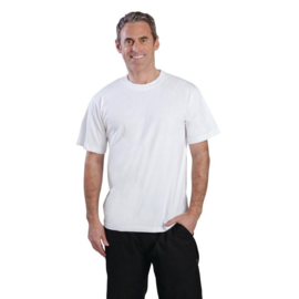 A103-XL - T-shirt. Maat XL wit