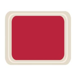 DS090 -Roltex Original dienblad rood 42x32cm