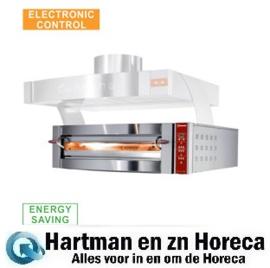 GDX4/35-DP - Elektrische pizza oven, 1 kamer, 4 pizza's Ø 350 mm DIAMOND