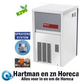 ICE22WX-R2 - Volle ijsblokjesmachine 22 kg, met reserve - WATER GEKOELD DIAMOND HORECA