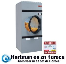 DSE-10/TS - Roterende elektrische wasdroogmachine, capaciteit 10 kg, met afwisselende rotatie TOUCH SCREEN  DIAMOND