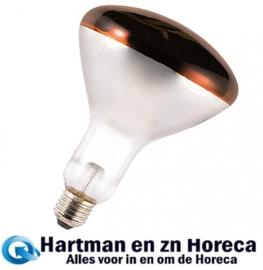 710205 - Warmhoudlamp  Rood - 250 Watt