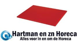 HC866 -Hygiplas HDPE snijplank rood