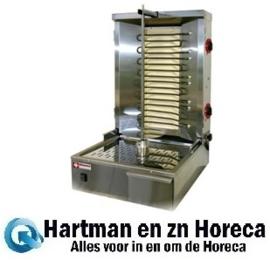 KEB-E60 - Elektrische gyros grill 35 kg DIAMOND