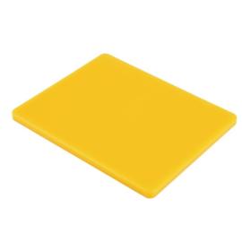 GL293 - Hygiplas LDPE GN1/2 snijplank geel 265x325x15mm