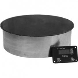 53000659200 - CookTek Silenzio inductie warmhoudplaat, diam. 323 mm - 94 mm (h), B651RD - drop-in, rond