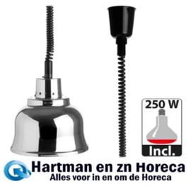 508023 - Warmhoudkap 23 cm hoogte instelbaar  - 230 Volt CaterChef