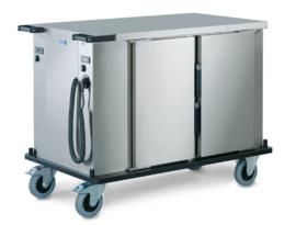 0163332 - SPTW-2/16 HC voedseltransportwagen, ventilator verwarmd en geforceerd gekoeld