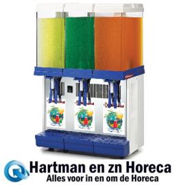 LUKE-3M -  Koude dranken dispenser  3 x 9 liter DIAMOND
