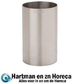 D961 - RVS barmaatje 125 ml
