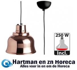 508026 - Warmhoudkap 23 cm Koper - 230 Volt