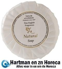 CB561 - Taylor of London natuurlijke zeep Inhoud: 30 ml