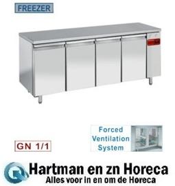 TS4B/H -  Vrieswerkbank geventileerd, 4 deuren GN 1/1 zonder motor DIAMOND