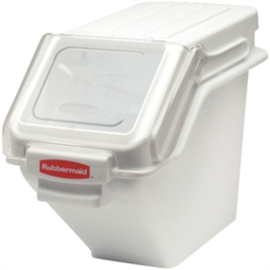 CF854 - Rubbermaid stapelbare voorraadcontainer 47ltr