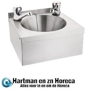 P088 -Vogue RVS mini handwasbak