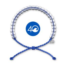 4Ocean armband blauw