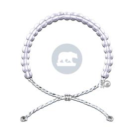 4Ocean armband wit ijsbeer
