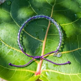4Ocean bracelet purple - Seal