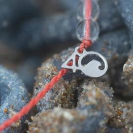 4Ocean armband koraal