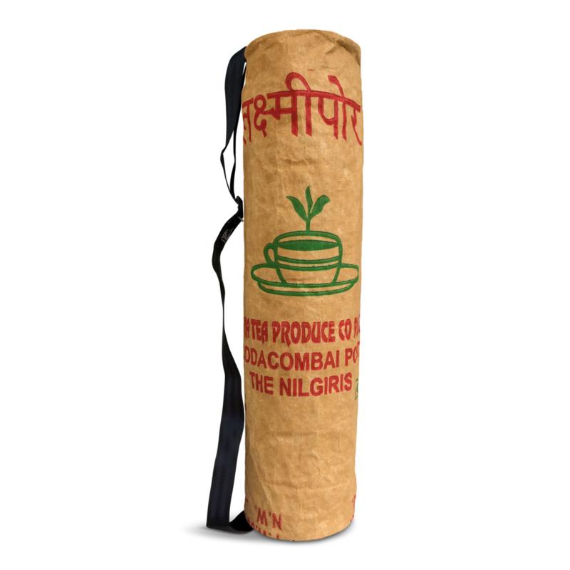 BlooM Ragbag yoga bag - green/red