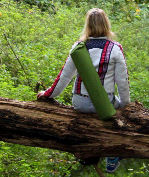 Yogatas - Klassiek biologisch katoen - groen
