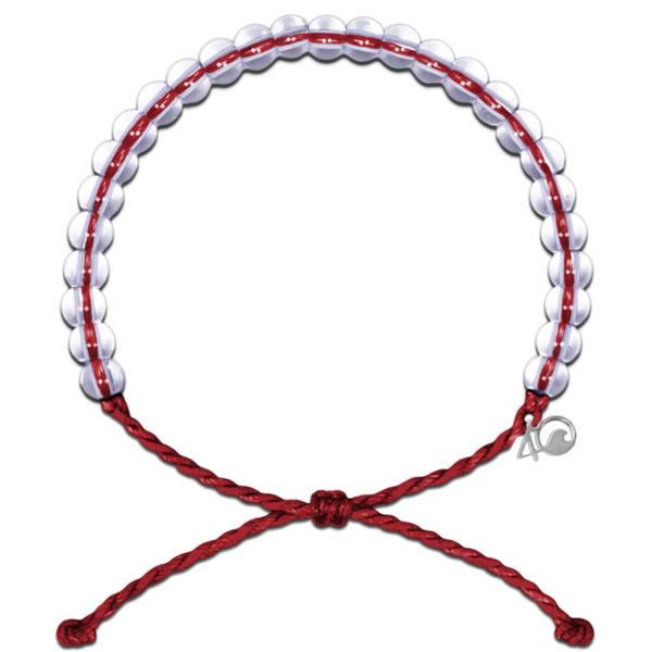 4Ocean armband rood