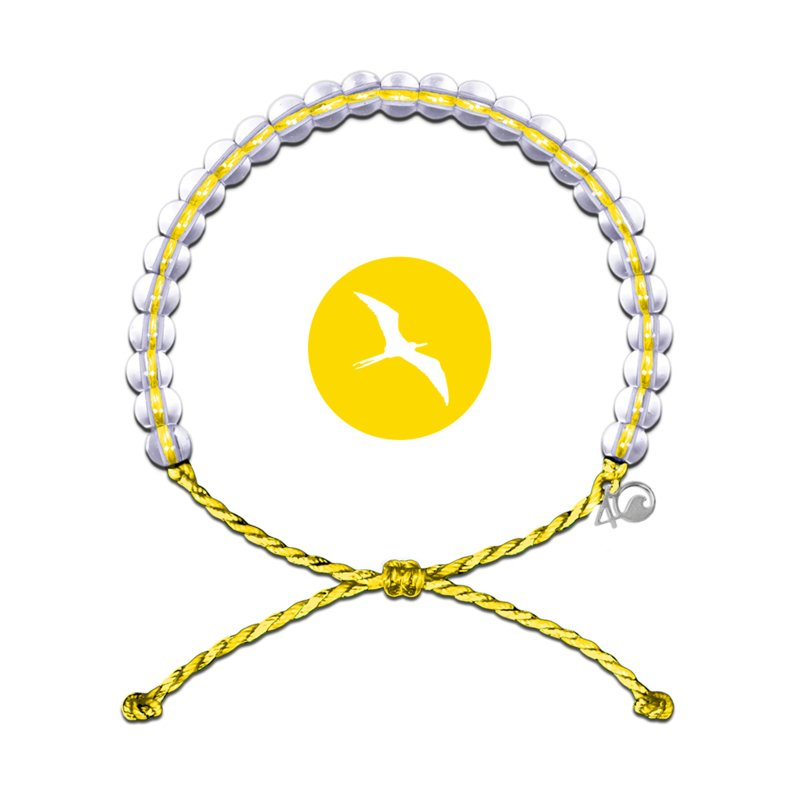4Ocean Seabird bracelet - Yellow