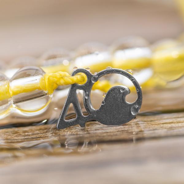 4Ocean armband yellow Seabird