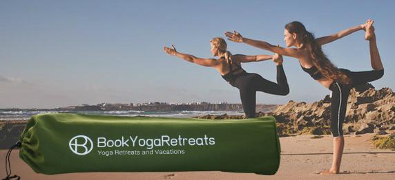 yogatas met logo