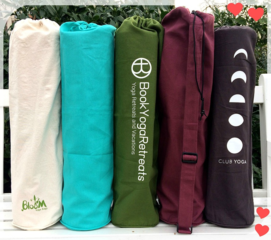 yoga bags with logo