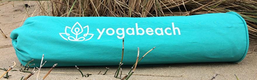 yoga bag with logo