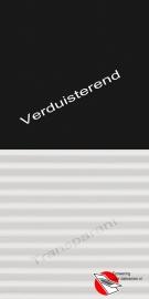 VELUX Combinatie gordijn DFD 3009 Zwart / wit