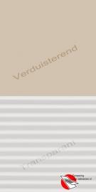 VELUX Combinatie gordijn DFD 4556 Zandbeige / wit