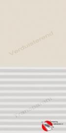 VELUX Combinatie gordijn DFD 1085 Beige / wit