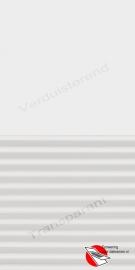 VELUX Combinatie gordijn DFD 1025 Wit / wit