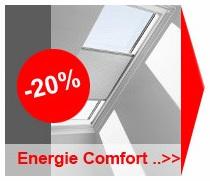 Velux energie comfort gordijn