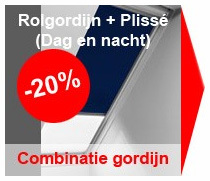 Velux combinatie gordijn