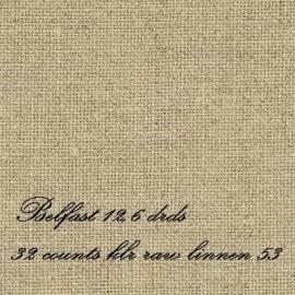 Zweigart Belfast kleur 53 Raw Linen