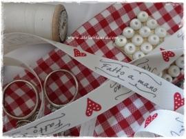 D Bandje Vintage Off-White Fatto a Mano